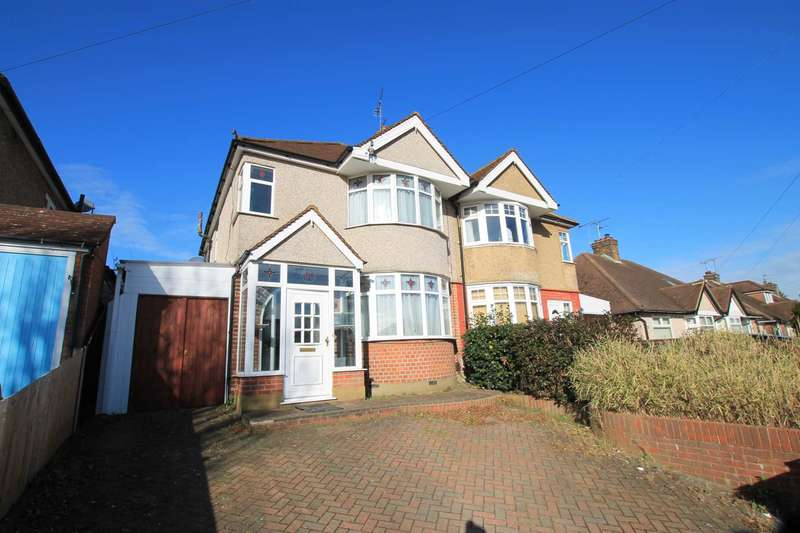3 Bedrooms Semi Detached House for rent in Hillrise Avenue, Watford