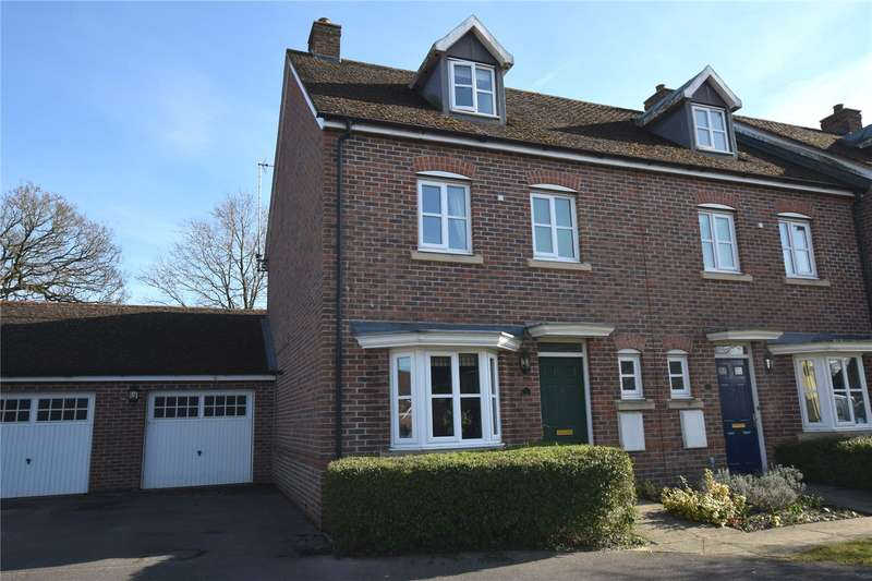 4 Bedrooms End Of Terrace House for sale in Acorn Gardens, Burghfield Common, Reading, Berkshire, RG7
