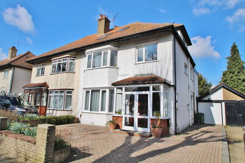 5 Bedrooms Semi Detached House for sale in Elgar Avenue, Surbiton
