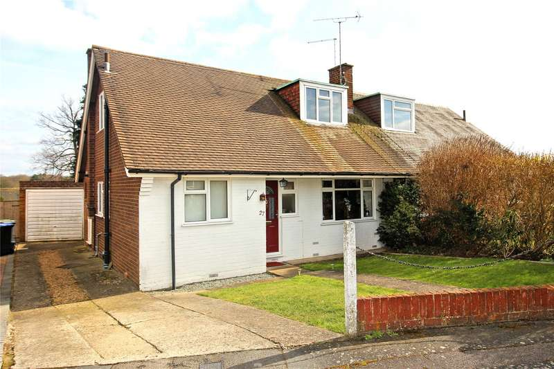3 Bedrooms Semi Detached House for sale in Mayhurst Crescent, Woking, Surrey, GU22