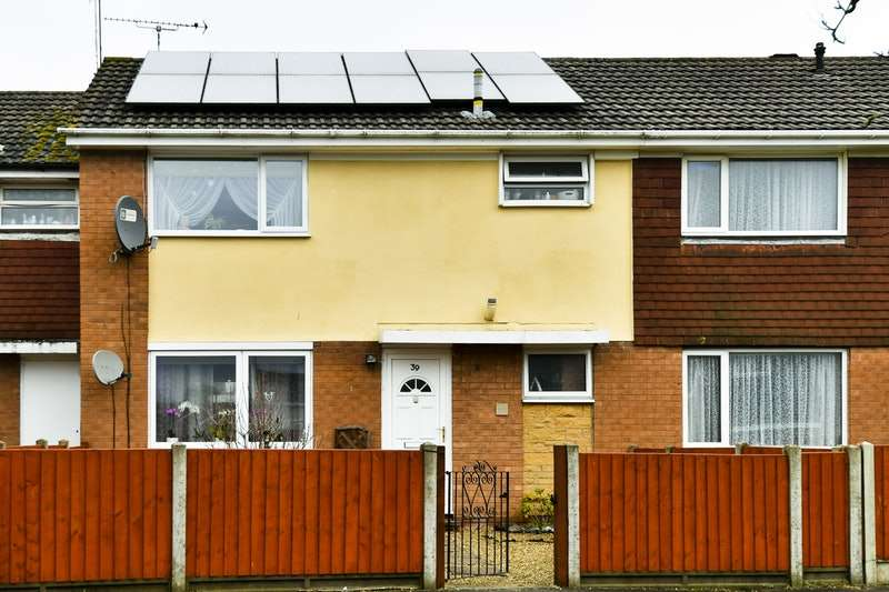 3 Bedrooms Terraced House for sale in Grasmere Close, Rugby, Warwickshire, CV21