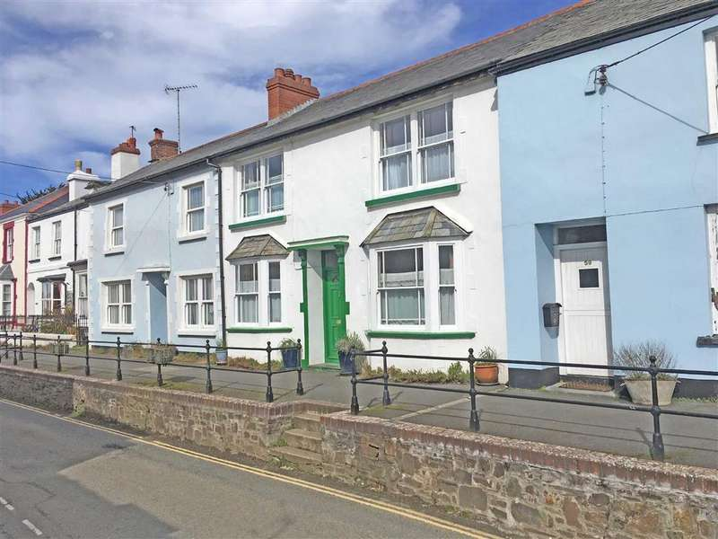 4 Bedrooms Semi Detached House for sale in Fore Street, Hartland, Bideford, Devon, EX39