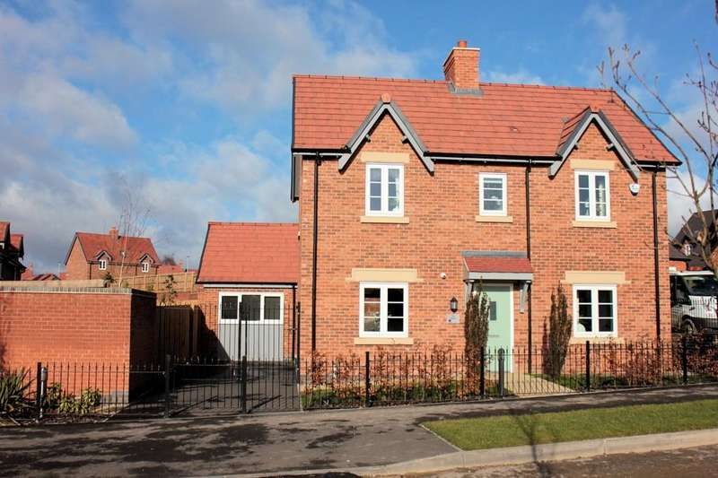 3 Bedrooms Detached House for sale in Woodcroft, Measham Road, Moira
