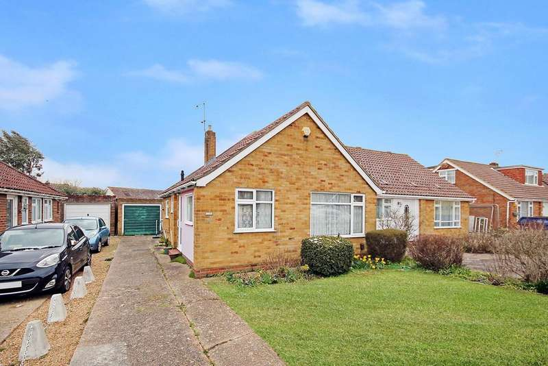 2 Bedrooms Semi Detached Bungalow for sale in Western Road, Sompting, Lancing