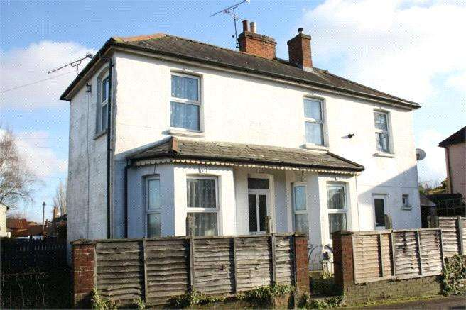 1 Bedroom End Of Terrace House for sale in Alexandra Road, Aldershot, Hampshire, GU11