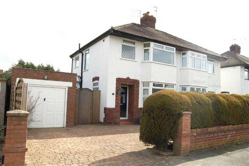3 Bedrooms Semi Detached House for sale in Fairview Road, Whitby, Ellesmere Port