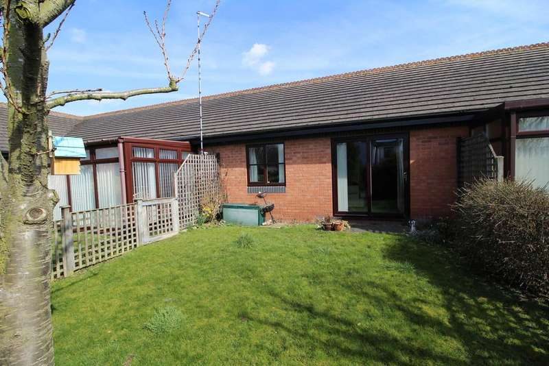 2 Bedrooms Terraced Bungalow for sale in Thirlmere Court, Barrow Upon Soar