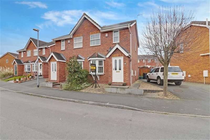 2 Bedrooms Semi Detached House for sale in Coningsby Drive, Winsford, Cheshire