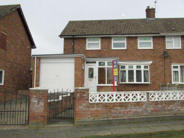 3 Bedrooms Semi Detached House for sale in MULLROY ROAD, OWTON MANOR, HARTLEPOOL