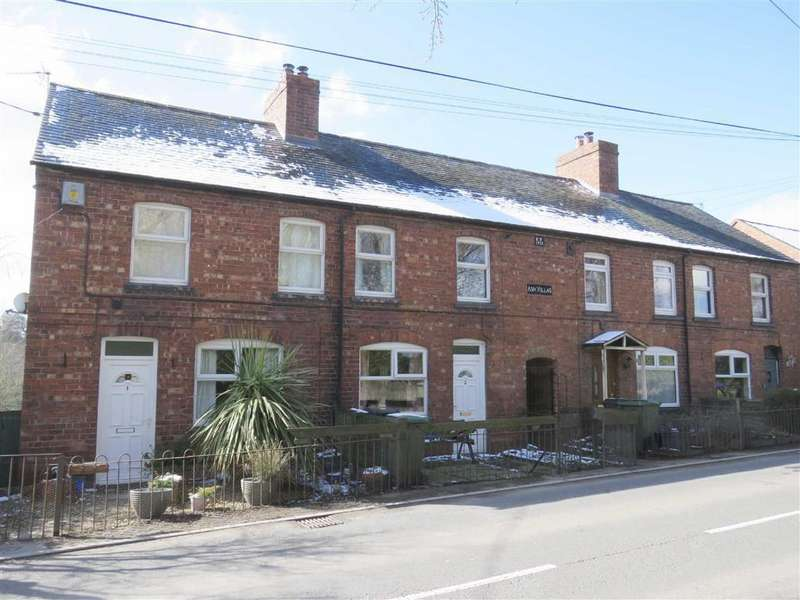 3 Bedrooms Terraced House for sale in Ash Villas, Dudleston Heath, SY12