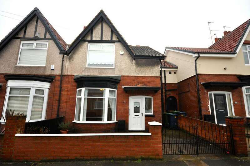 3 Bedrooms Semi Detached House for sale in Henderson Road, St Gabriels, Sunderland