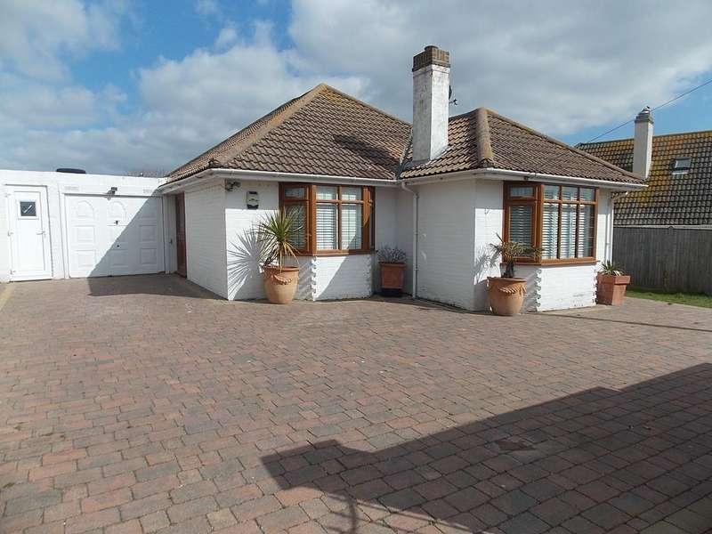 3 Bedrooms Detached Bungalow for sale in Amhurst Road, Telscombe Cliffs, East Sussex