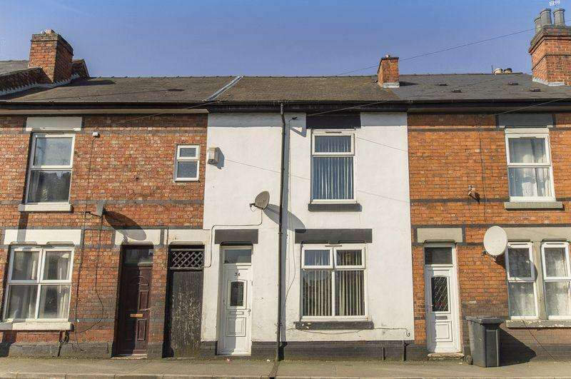 2 Bedrooms Terraced House for sale in BALACLAVA ROAD, DERBY