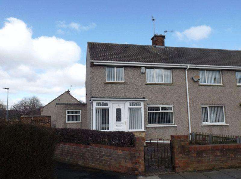 3 Bedrooms Semi Detached House for sale in Renwick Walk