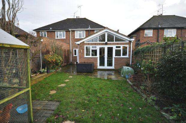3 Bedrooms Semi Detached House for sale in Wyndham Crescent, Woodley, Reading,