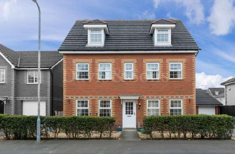 5 Bedrooms Detached House for sale in Grosmont Way, Celtic Horizon, Newport. NP10 8UQ