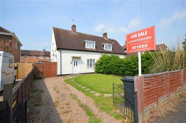 2 Bedrooms Semi Detached House for sale in FRANKLIN FIELDS, CORBY