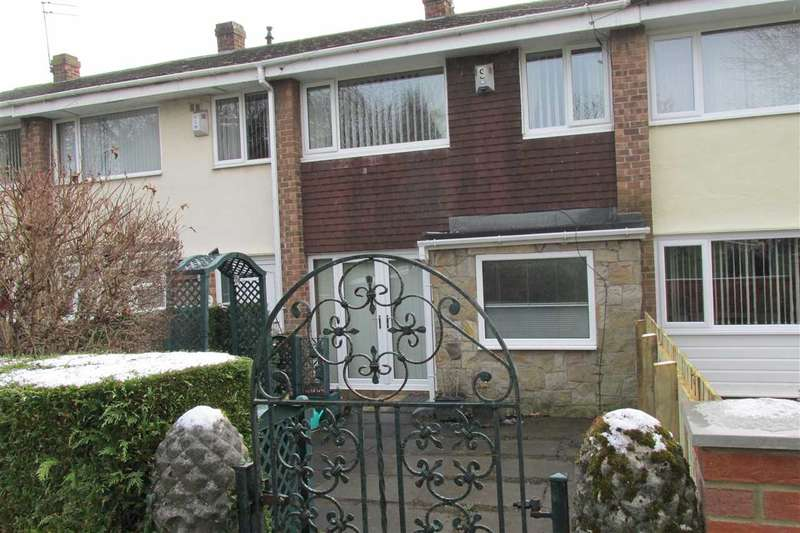 3 Bedrooms Semi Detached House for sale in Farnham Close, Newcastle upon Tyne