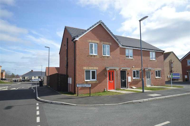 3 Bedrooms Link Detached House for sale in Kingsdale Close, Catchgate, Stanley