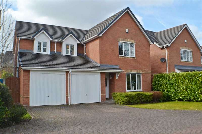 5 Bedrooms Detached House for sale in The Lees, Burtonwood Road, Great Sankey, Warrington