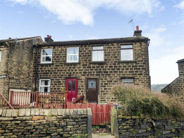 3 Bedrooms End Of Terrace House for sale in Robert Lane, Holmfirth, West Yorkshire