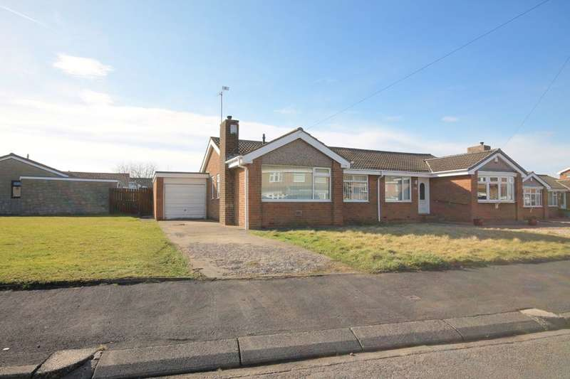 2 Bedrooms Semi Detached Bungalow for sale in Elmway, Chester Le Street, DH2