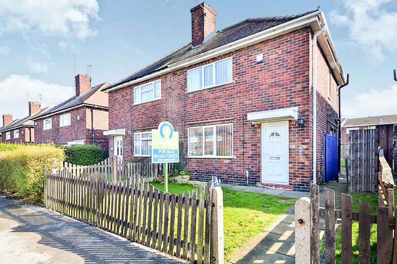 2 Bedrooms Semi Detached House for sale in Alexandra Street, Kirkby-In-Ashfield, Nottingham, NG17