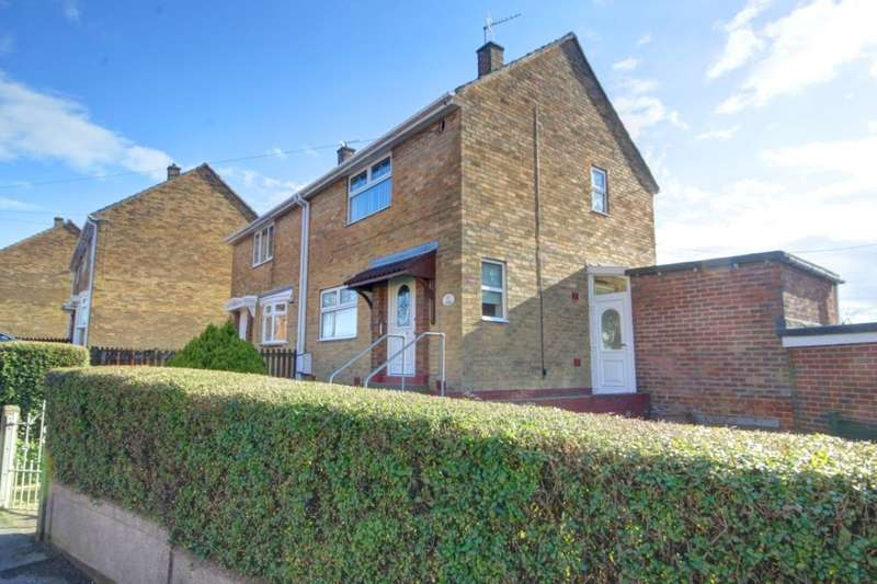 2 Bedrooms Semi Detached House for sale in Brinkburn Crescent, Houghton Le Spring, DH4