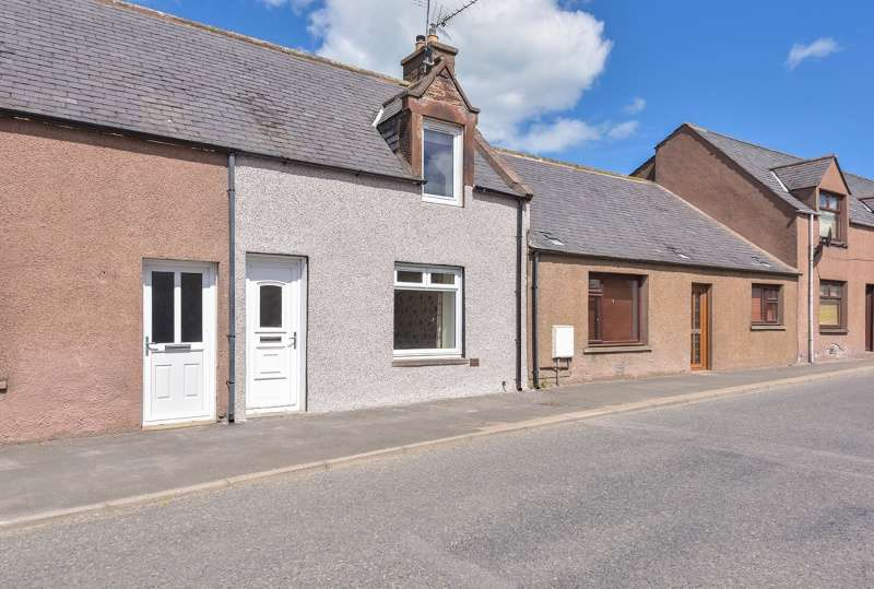 2 Bedrooms Terraced House for sale in Church Street, Turriff, Aberdeenshire, AB53 4AL