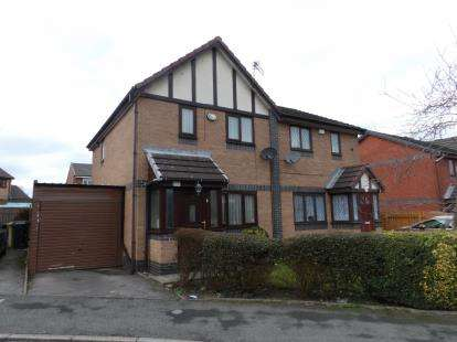 3 Bedrooms Semi Detached House for sale in Sevenoaks Drive, Great Lever, Bolton, Greater Manchester, BL3