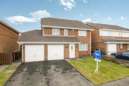 4 Bedrooms Detached House for sale in Willow Crescent, Hawarden, Deeside, Flintshire, CH5