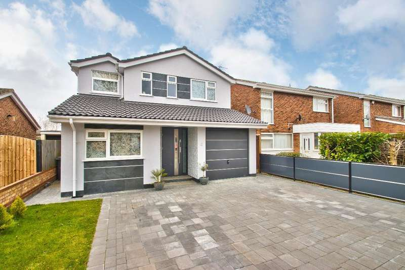 4 Bedrooms Detached House for sale in Restormel Close, Bedford, MK41 8PA