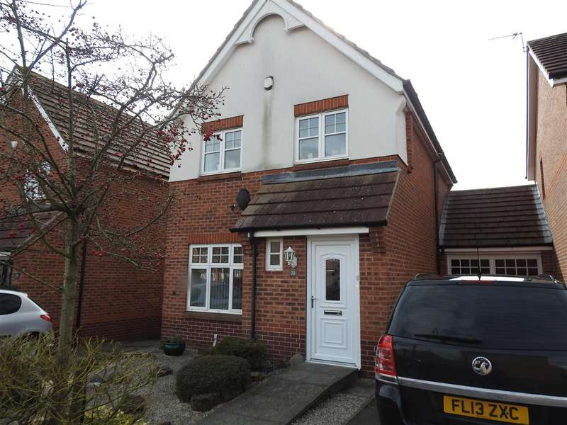 3 Bedrooms Detached House for sale in Minstrel Close, Hucknall, Nottingham