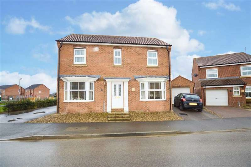 3 Bedrooms Detached House for sale in Ashcourt Drive, Hornsea, East Yorkshire