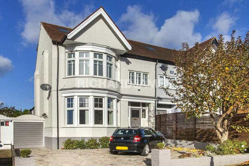 4 Bedrooms Semi Detached House for sale in Woodcroft Avenue, London