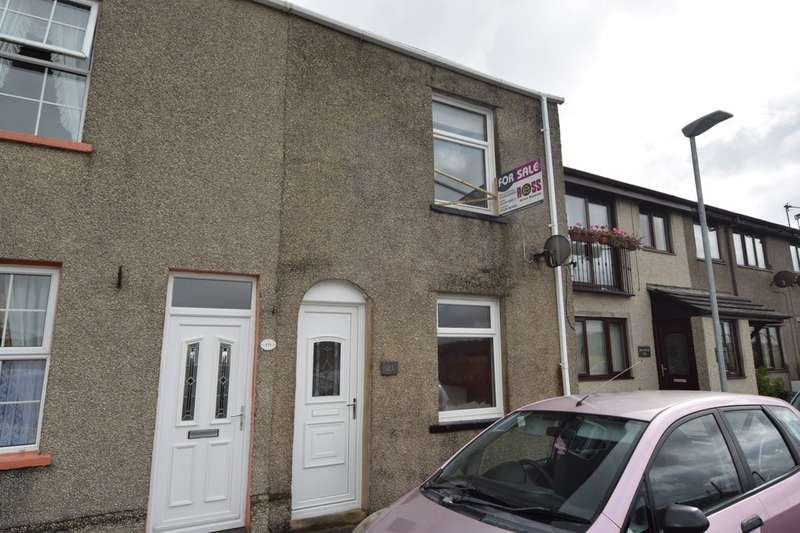 2 Bedrooms End Of Terrace House for sale in Steel Street, Ulverston, Cumbria, LA12 9DY