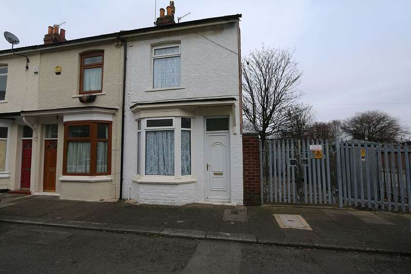 2 Bedrooms End Of Terrace House for sale in Cadogan Street, North Ormesby, Middlesbrough, Cleveland, TS3 6PX