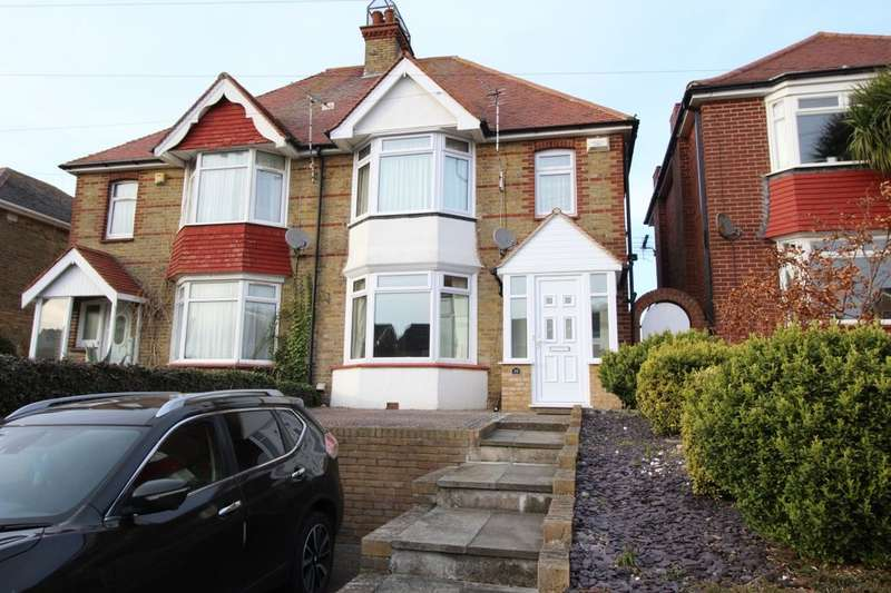 4 Bedrooms Semi Detached House for sale in Downs Road, Ramsgate, CT11