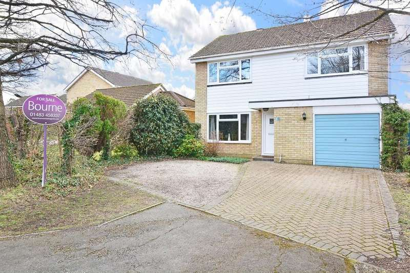 4 Bedrooms Detached House for sale in Merrow Copse, Guildford