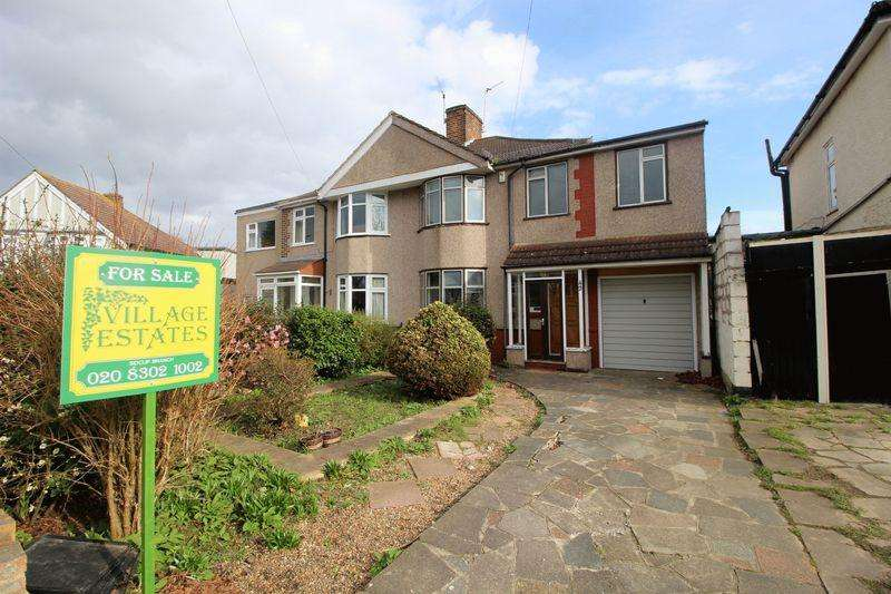 4 Bedrooms Semi Detached House for sale in Shuttle Close, Sidcup, DA15 8EP