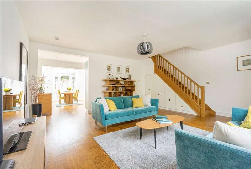 4 Bedrooms Terraced House for sale in Morley Road, Richmond, East Twickenham, TW1