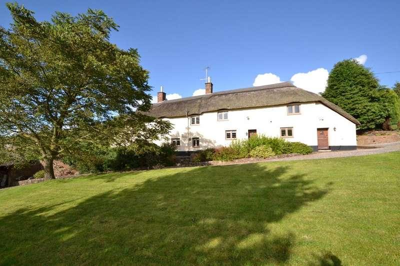 3 Bedrooms Detached House for sale in Luxborough, Watchet