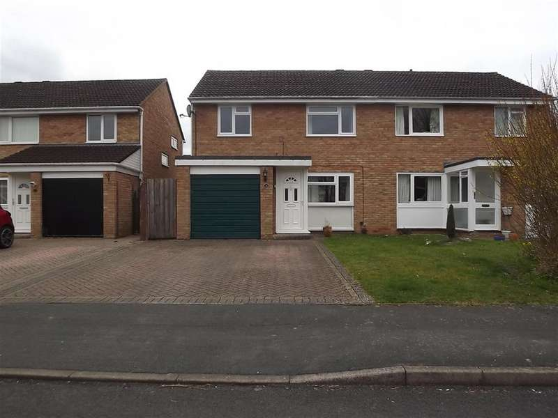 3 Bedrooms Semi Detached House for sale in Sheridan Way, Longwell Green, Bristol, BS30 9UE