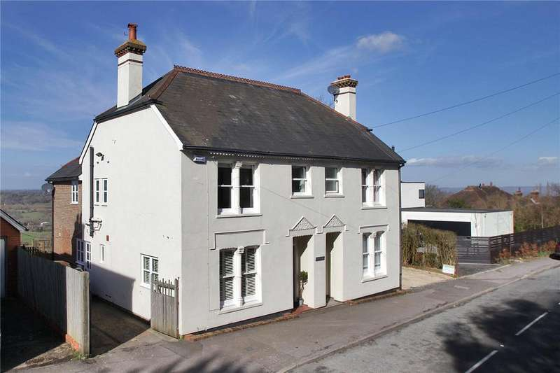 3 Bedrooms Semi Detached House for sale in Grand View, North Road, Goudhurst, Kent, TN17