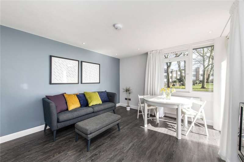 2 Bedrooms Flat for sale in Baly House, 39 Palace Road, London, SW2
