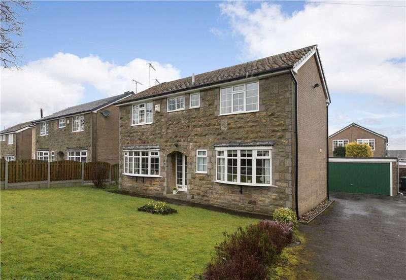 4 Bedrooms Detached House for sale in Greenside Lane, Cullingworth, Bradford, West Yorkshire