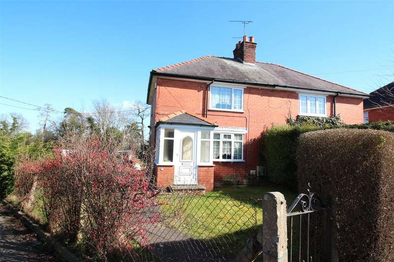 3 Bedrooms Semi Detached House for sale in The Ridgeway, Marchwiel, Wrexham, LL13