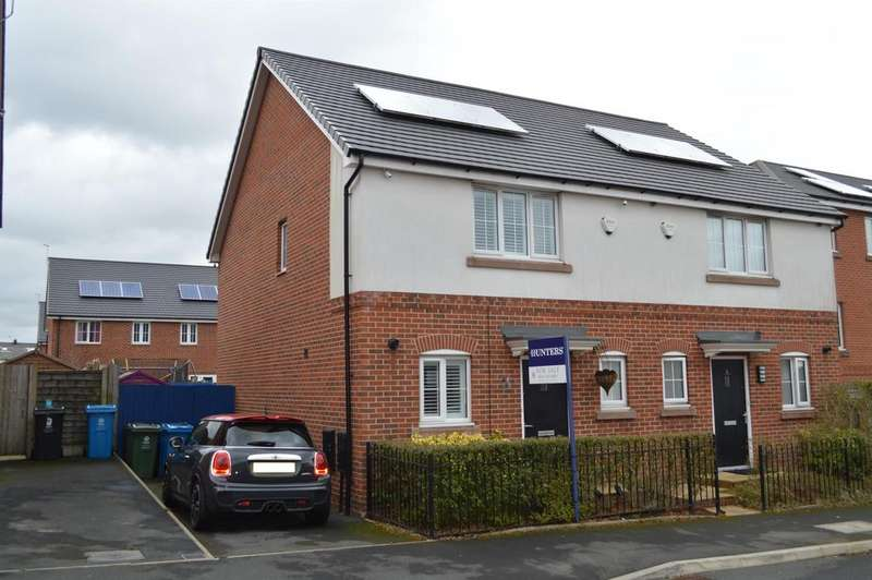 3 Bedrooms Semi Detached House for sale in Flint Hill Way, Oldham, OL8 1QU