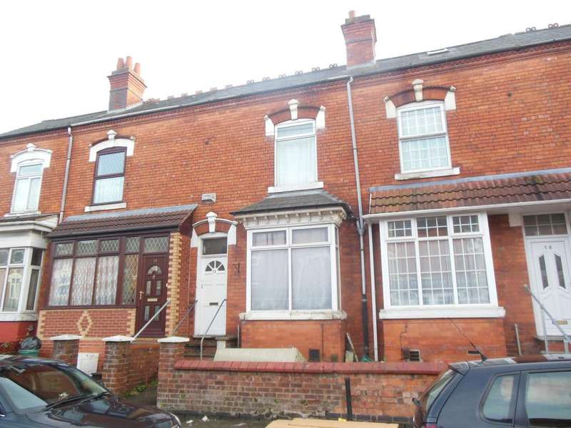 3 Bedrooms Terraced House for sale in Evelyn Road, Sparkhill, Birmingham B11