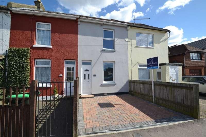 3 Bedrooms Terraced House for sale in Walderslade Road, Walderslade, Chatham, ME5